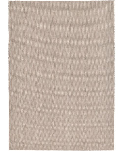 "Bridgeport Home Pashio Pas6 Beige 8' x 11' 4"" Area Rug"