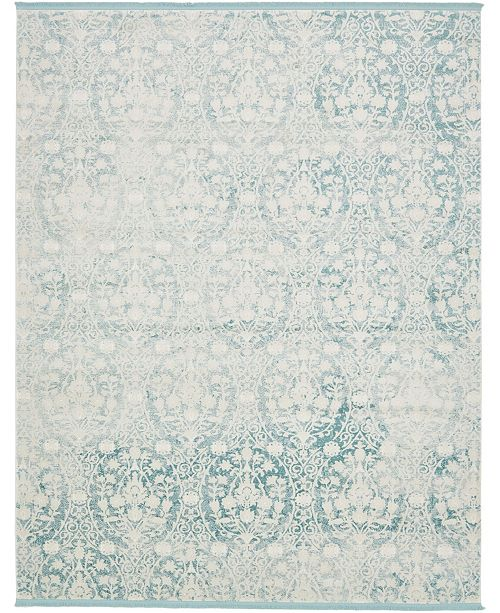 Bridgeport Home Norston Nor5 Light Blue 8' x 10' Area Rug