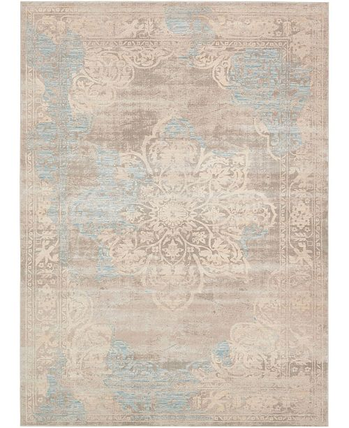 Bridgeport Home Caan Can4 Taupe 9' x 12' Area Rug