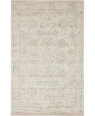 Caan Can6 Beige 7' x 10' Area Rug