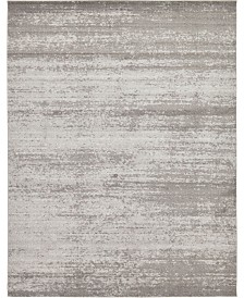 Bridgeport Home Lyon Lyo3 Gray 10' x 13' Area Rug