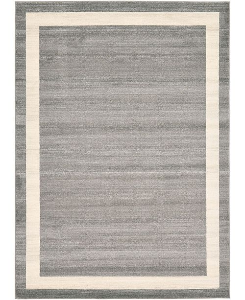 Bridgeport Home Lyon Lyo5 Gray 8' x 11' Area Rug