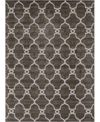 Pashio Pas2 Gray 9' x 12' Area Rug