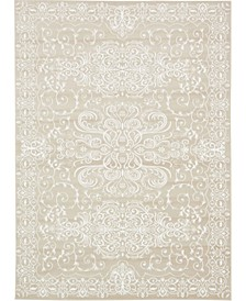 Marshall Mar4 Snow White 7' x 10' Area Rug