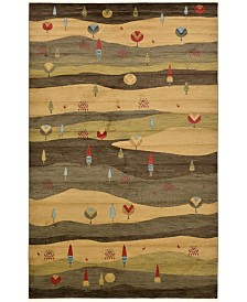 "Bridgeport Home Ojas Oja1 Tan 10' 6"" x 16' 5"" Area Rug"