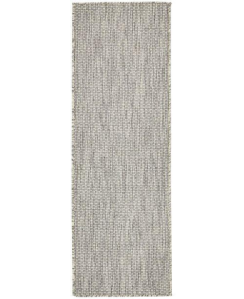 Bridgeport Home Pashio Pas6 Light Gray 2' x 6' Runner Area Rug