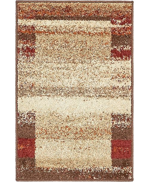 Bridgeport Home Jasia Jas10 Beige 2' x 3' Area Rug