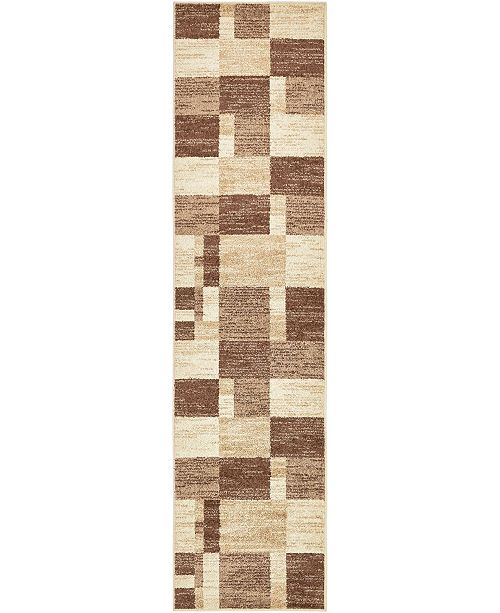 "Bridgeport Home Jasia Jas14 Beige 2' 6"" x 10' Runner Area Rug"