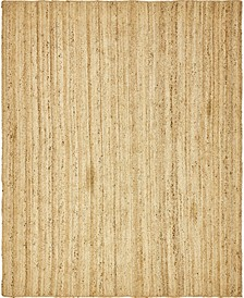 Braided Jute C Bjc5 Natural 8' x 10' Area Rug