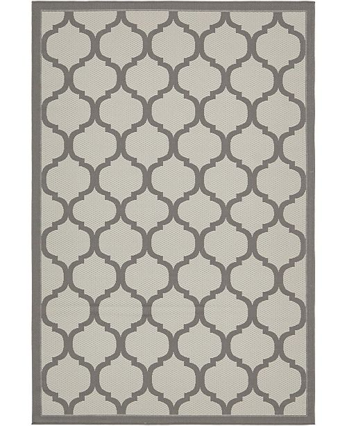 Bridgeport Home Pashio Pas5 Gray 6' x 9' Area Rug