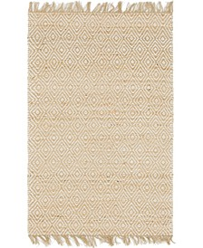 Braided Tones Brt3 Natural/White 4' x 6' Area Rug