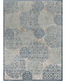 "Bridgeport Home Aitana Ait3 Blue 10' 4"" x 14' Area Rug"