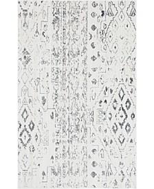 Nira Nir2 Ivory/Gray 5' x 8' Area Rug