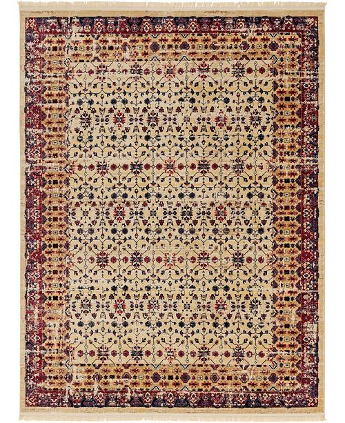 Bridgeport Home Borough Bor2 Beige 9' x 12' Area Rug
