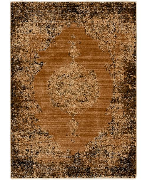 Bridgeport Home Thule Thu2 Light Brown 4' x 6' Area Rug