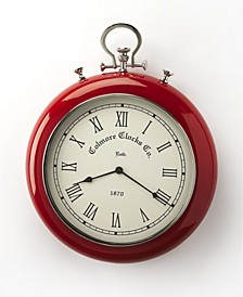 Butler Scarlet Wall Clock