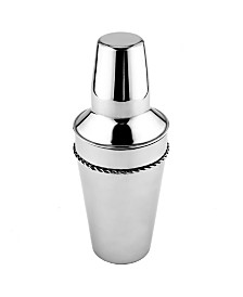Old Dutch International Stainless Steel Cocktail Shaker, 20 Oz