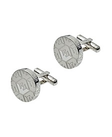 Emporio Armani Men's Stainless Steel Logo Cufflinks