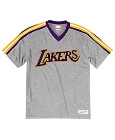 Men's Los Angeles Lakers Overtime Win V-Neck T-Shirt