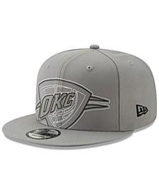 Oklahoma City Thunder Light It Up Gray 9FIFTY Snapback Cap