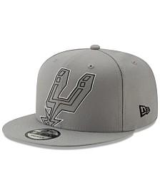 New Era San Antonio Spurs Light It Up Gray 9FIFTY Snapback Cap