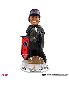 Forever Collectibles Jose Ramirez Cleveland Indians Game Of Thrones Nights Watch Bobblehead
