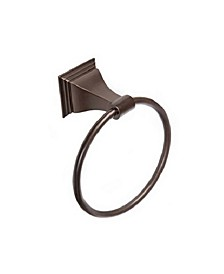 Arista Leonard Towel Ring Oil-Rubbed Bronze Finish