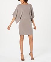 3843230ba37b7 Jessica Howard Metallic Shimmer Blouson Dress