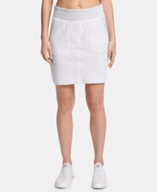 DKNY Sport Logo Patch Skirt
