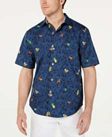 Tommy Bahama Men's Beach-Cation Graphic Shirt