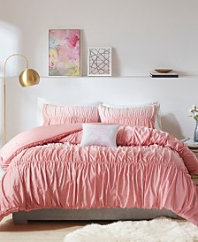 Intelligent Design Ellen 4-Pc. Ombre and Ruched Comforter Sets