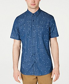 Men's Denim Star Shirt, Created for Macy's