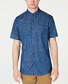 American Rag Men's Denim Star Shirt, Created for Macy's