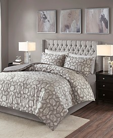 Madison Park Savannah Jacquard Duvet Sets