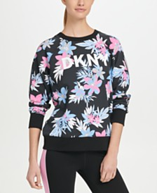 DKNY Sport Printed Logo Sweatshirt, Created for Macy's