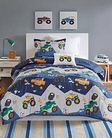 Mi Zone Kids Nash Full/Queen 4 Piece Printed Comforter Set