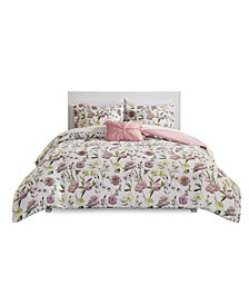 Intelligent Design Ashley Queen 8-Pc. Comforter and Sheet Set
