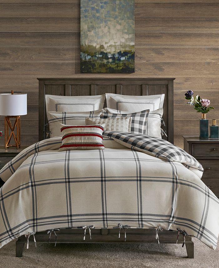 JLA Home - Signature Willow Oak 8-Pc. Reversible Cotton Comforter Sets
