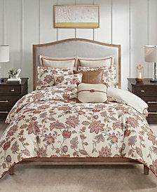 Madison Park Signature Wentworth Queen 8 Piece Jacquard Comforter Bedding Set