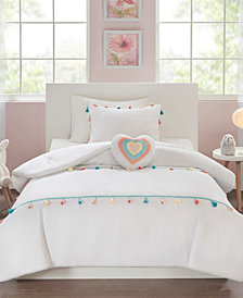 Mi Zone Kids Tessa Full/Queen 4 Piece Tassel Comforter Set
