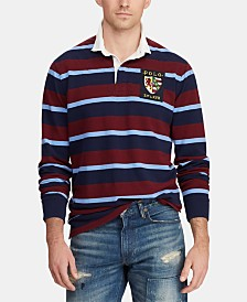 Polo Ralph Lauren Men's Classic Fit Stripe Rugby Polo