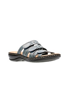 Clarks Collection Women's Leisa Cacti Q Flat Sandals