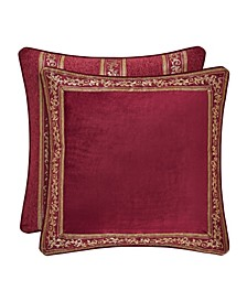 J Queen Maribella Crimson Euro Sham