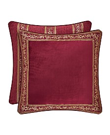 J Queen Maribella Crimson Euro Sham