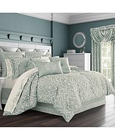 J Queen Lombardi Spa King Comforter Set