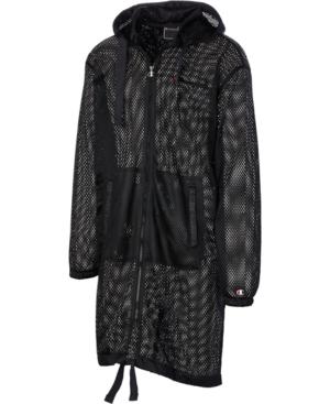 Champion Coats MEN'S C-LIFE MESH HOODED TRENCH COAT