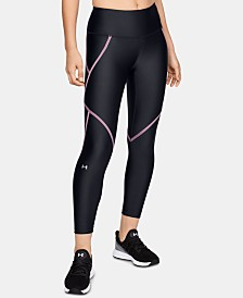 Under Armour Women's HeatGear Armour Ankle Crop Edgelit