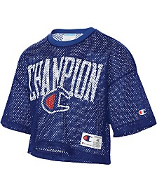 Champion Men's C-Life Mesh Logo Football Jersey