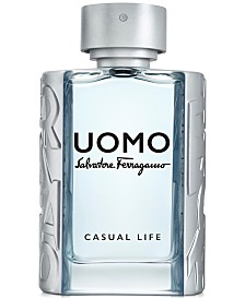 Salvatore Ferragamo Uomo Casual Life Eau de Toilette Spray, 3.4-oz.
