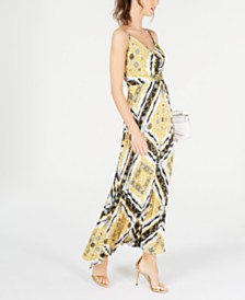 I.N.C. Pleated Maxi Dress, Created for Macy's